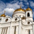 The Cathedral of Christ the Savior, Moscow 2011, Russia - Stock fotografie