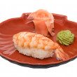 Japan traditional food - sushi — Stockfoto
