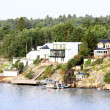 Lonely island in Sweden Archipelago - Stockfoto