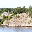 Lonely island in Sweden Archipelago - Foto de Stock