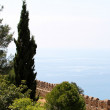 Alanya castle view — Stock Photo #6626974