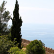 Alanya castle view — Stock Photo