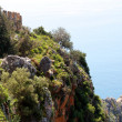 alanya castle view — Stock Photo #6627001