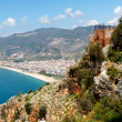 Alanya castle view — Stock Photo #6627030