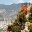 Alanya castle view — Stock Photo