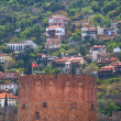 Kizil Kule (Red Tower), inTurkish city of Alanya — Stock Photo #6627110