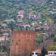 Kizil Kule (Red Tower), inTurkish city of Alanya — Stock Photo #6627114