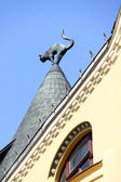 Riga Latvia city view — Stock Photo
