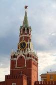 The Saviour (Spasskaya) Tower of Moscow Kremlin, Russia. — Stock Photo
