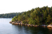 Lonely island in Sweden, Archipelago — Stock Photo