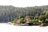 Lonely island in Sweden Archipelago — Stock Photo