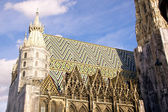 St. Stephan's cathedral in Vienna — Stock Photo