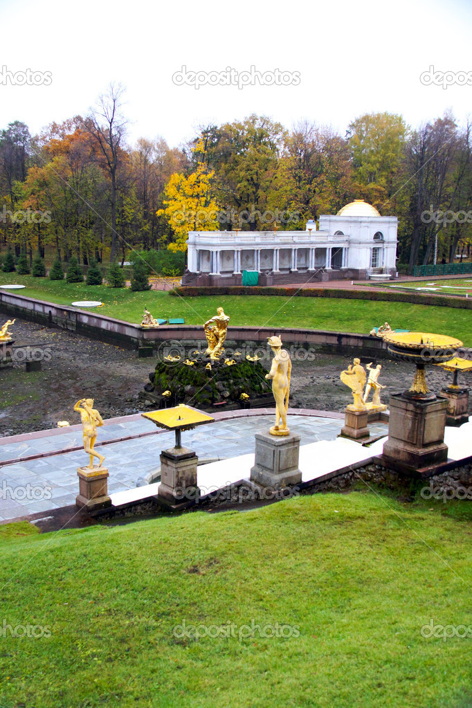 Saint petersburg. Peterhof   Stock Photo #6623571