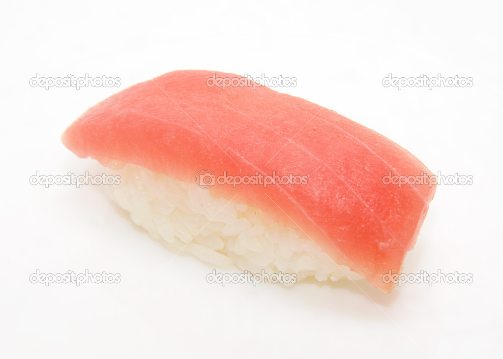 Japan traditional food - sushi isolated — Stock Photo #6625234