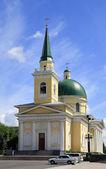 Russia,ortodox cathedral — Stock Photo