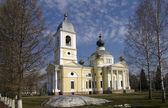 Kathedrale in myschkin, russland — Stockfoto