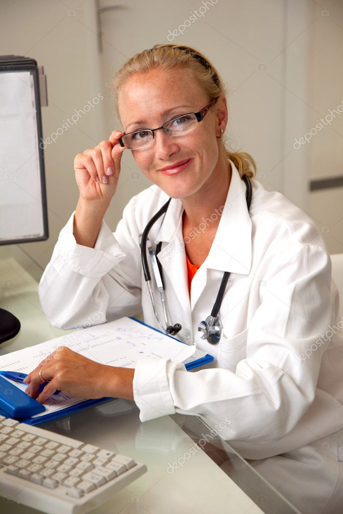 Female medical professional — Stock Photo #6429478