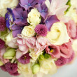 Wedding bouquet of wildflowers - Stock Photo