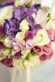 Wedding bouquet of wildflowers — Stock Photo