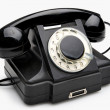 Vintage rotary telephone — Stock Photo