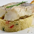 Pike-perch fillet — Stock Photo
