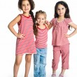 Cute little girls - Stock Photo