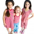 Stock Photo: Cute little girls