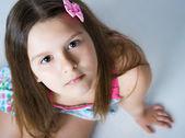 Beautiful little girl. — Stock Photo