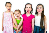 Cute little girls — Stock Photo