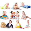 Collection photos of a kids — Stock Photo #5931905