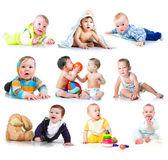 Bir çocuk koleksiyonu fotoğraf — Stok fotoğraf