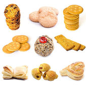 Cookies collection — Stock Photo