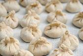 Georgian dumplings Khinkali — Stock Photo