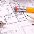 Engineering and architecture drawings — Stock Photo #5438261