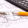 Engineering and architecture drawings — Stock Photo #5438651