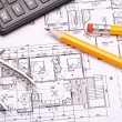 Engineering and architecture drawings — Stock Photo #5438654