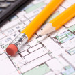 Engineering and architecture drawings — Stock Photo #5446249