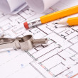Engineering and architecture drawings — Stock Photo #5447328