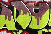 Mur de graffiti — Photo