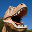 Aggressive T-Rex — Stock Photo