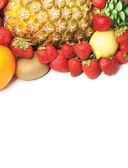Colorido saudáveis frutas frescas. filmado em um estúdio — Foto Stock