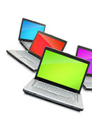 Laptops — Stockfoto