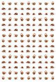 Escarabajos de la patata de Colorado — Foto de Stock