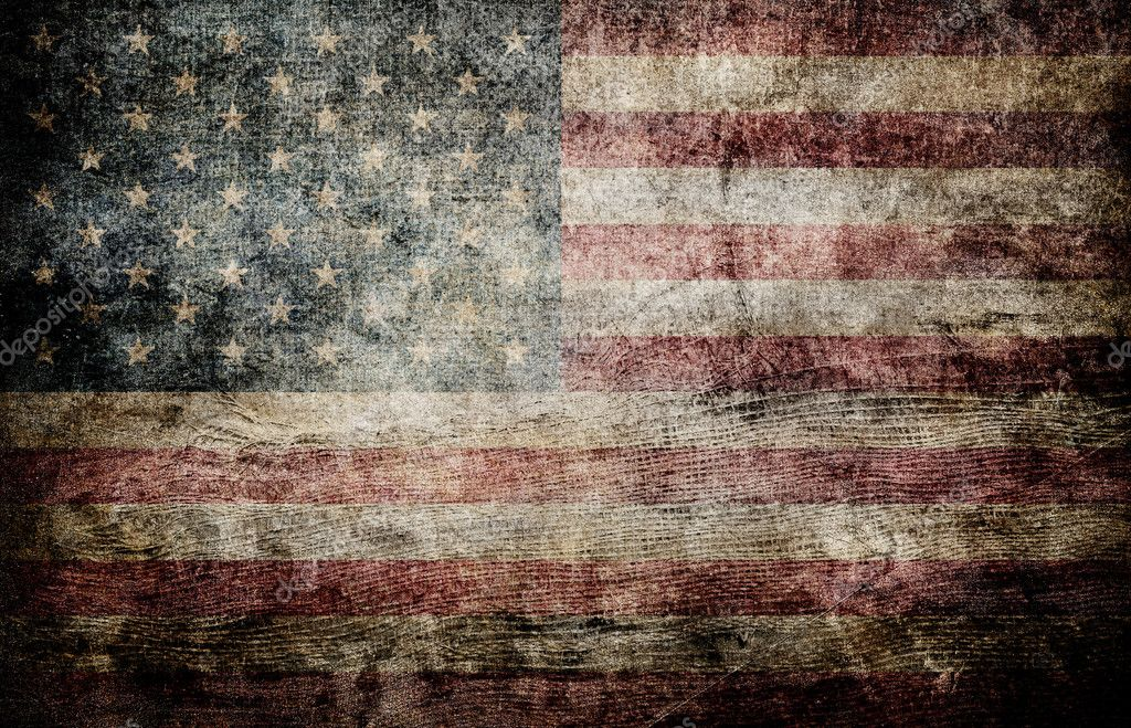American flag background. — Stock Photo #5912770