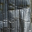 Crumpled metal background. - Stock Photo