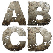 Royalty-Free Stock Photo: Iron alphabet.