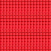 Red tiled roof seamless pattern. — Stock Photo