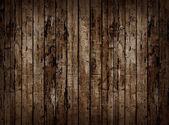 Vieille clôture en bois. — Photo