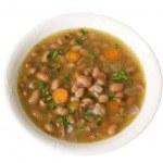Постер, плакат: Bean soup haricot soup