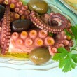 Oktopus, appetizer — Stock Photo #6586359
